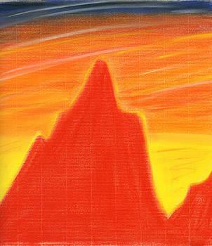 Hakon Soreide - Orange Sunset