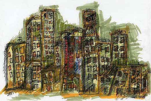 Orbit Town by Sue Van Horsen
