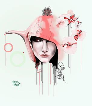 Orchid Teapot by Lauren Penha