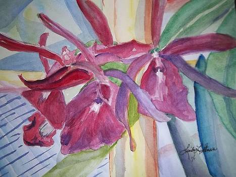 Orchids 2 by Linda L Stinson