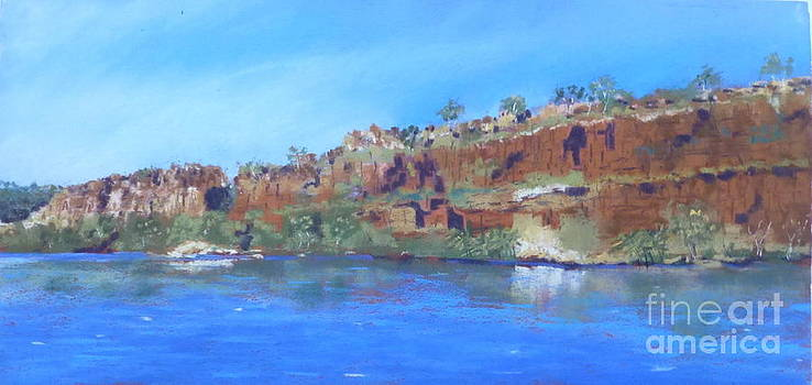 Ord River afteroon cruise by Nadine Kelly