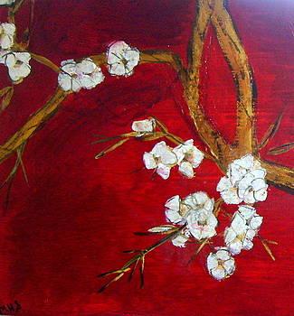 Oriental Flower Blossom by Melynnda Smith