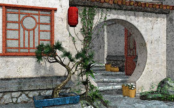Oriental Portal by Peter J Sucy