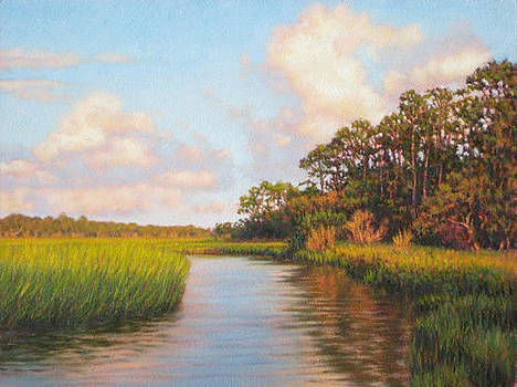 ORIGINAL  Afternoon on Jekyll Island by Michael Story