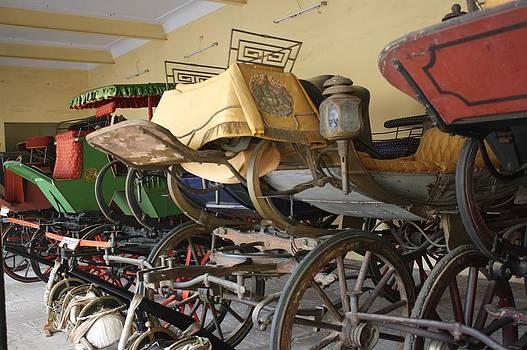 Original Ancient Vintage Wagon by ilendra Vyas