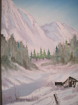 Original Bob Ross Painting by Stacey Rabe