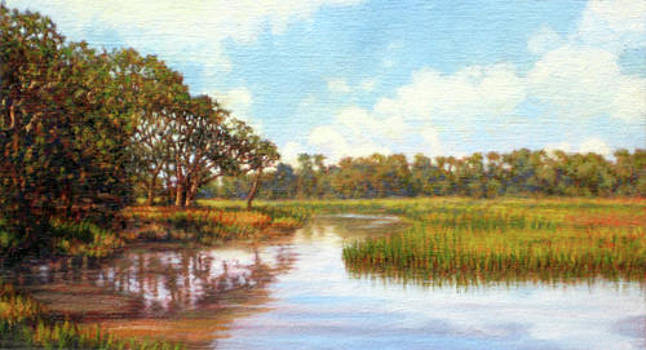 ORIGINAL Creek Expanse by Michael Story