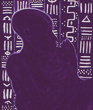 Original Genesis 2 24  by Melvin Robinson