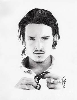 Orlando Bloom by Rosalinda Markle