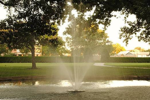 OSU Fountain by Kimberly Harrison