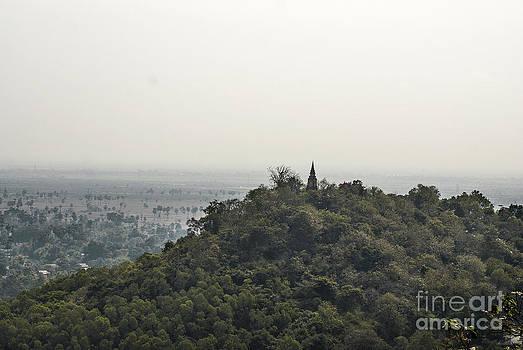 Oudong Mountain by Saajid Abuluaih
