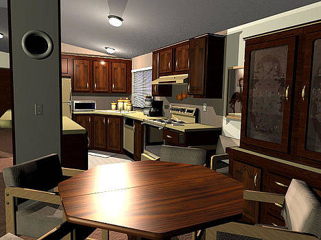 Our kitchen by John DiLauro