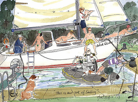 Our Sort of Sailing by Mark Huskinson