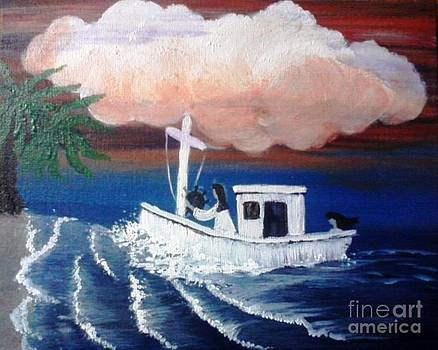 Out Of Stormy Seas by Patty  Thomas