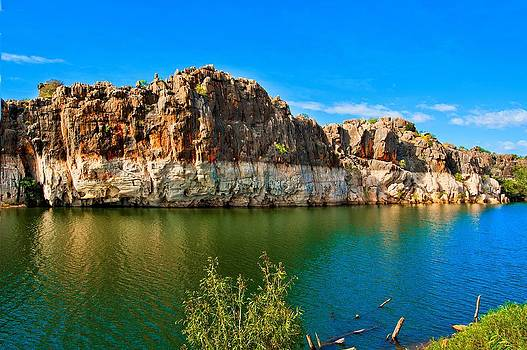 Outback Geikie Gorge by Boyd Nesbitt