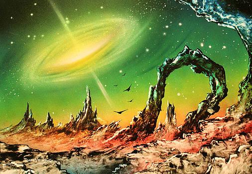 Outer Eye Galaxy by Tony Vegas