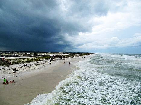 Outter Band of Tropical Storm by Pam Utton