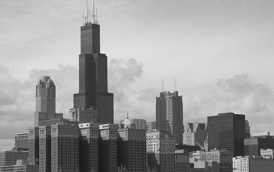 Overcast Chicago by Paul Blomeyer