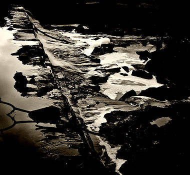 Overlooking Stumble Falls by Steve Buckenberger