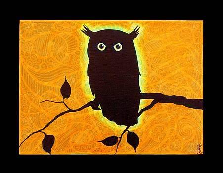 Jim Harris - Owl Silhouette
