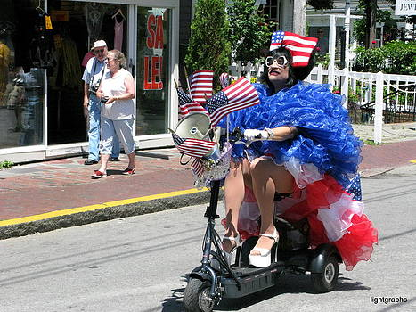 P-Town Fourth of July by Julia Jones