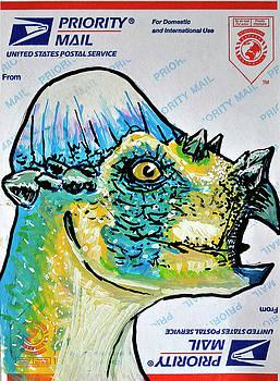 Pachycephalosaurus by Josean Rivera