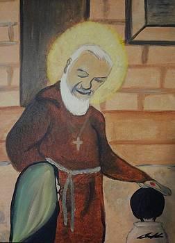 Padre Pio by Carlos Alvarado