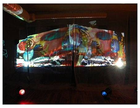 Paint Projection by Carrie Beehan