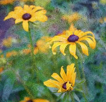 Painted Flowers by Cathie Tyler