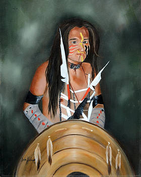 Painted Navajo by Jan Holman