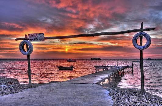Painterly Sunset by Boyd Nesbitt