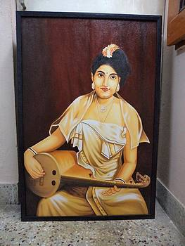 Painting by Bharathidasan Thasan