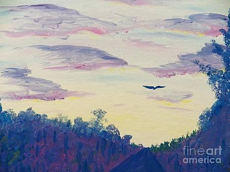 Judy Via-Wolff - Painting  Driving at Dawn