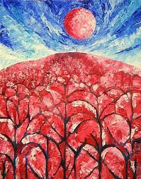 Painting for Simonette by Harold Bascom