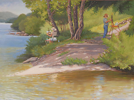 Painting The River by Todd Baxter