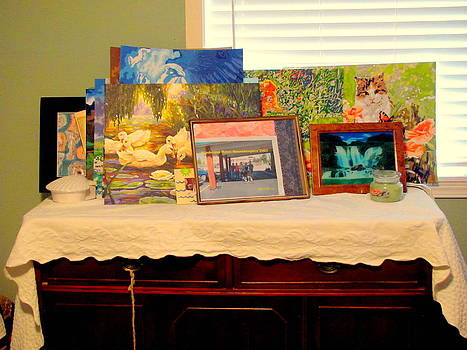 Paintings Displayed by Amy Bradley