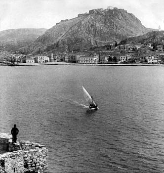 Palamidi Fortress - Greece - c 1907 by International  Images