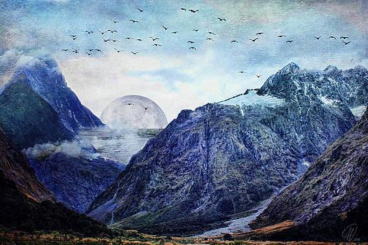 Pale Moon Rising by Margaret Hormann Bfa