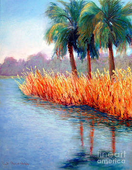 Palm Reflections by Patricia Huff