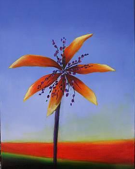 Palm Tree Series 12 by Karin Eisermann
