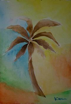 Palm Tree Series 7 by Karin Eisermann