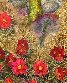 Palo Verde 'mong the Hedgehogs by Eric Samuelson