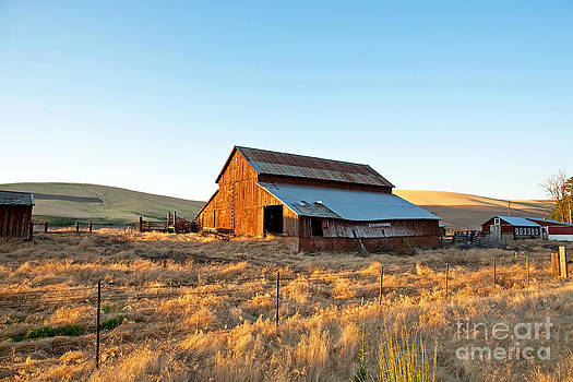 Palouse barn by Russell Christie