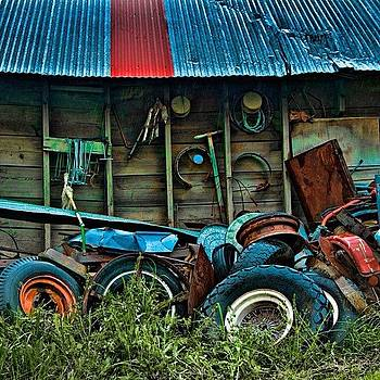 Palouse Junkyard by Felice Willat