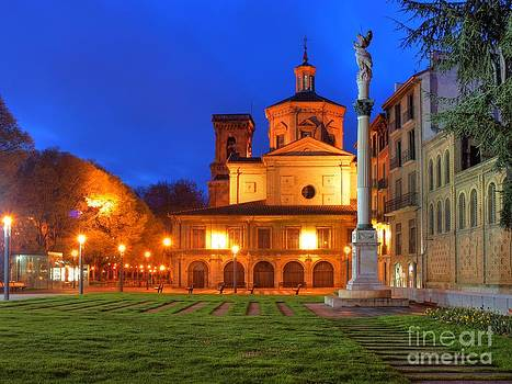 Pamplona Cathedral by Alfredo Rodriguez