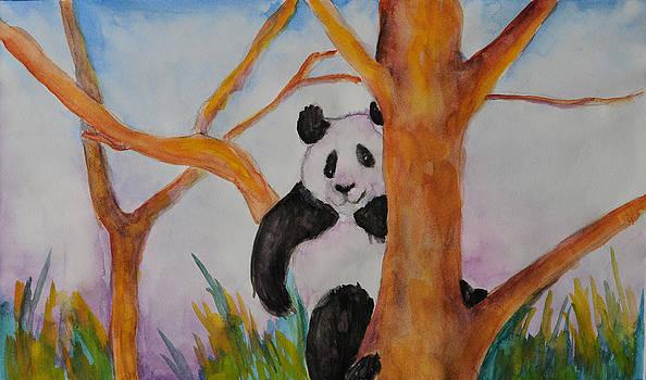 Panda For Tony by Cyrene Swallow