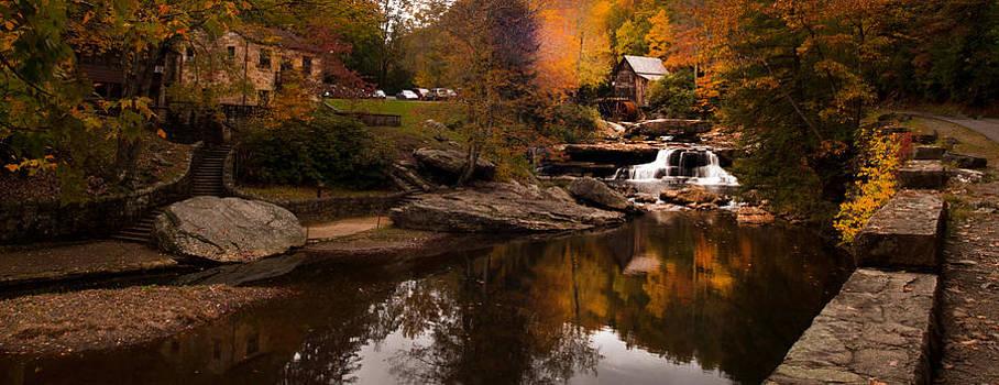 Randall Branham - Panorama  Glade Creek Mill