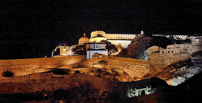 Kantilal Patel - Panorama Kumbhalghar Fort