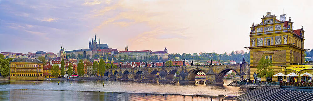 Panorama of Prague Castle by Travel Images Worldwide