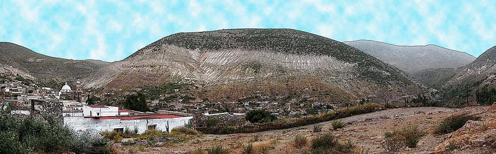 Panoramic of Real de Catorce by Jesus Nicolas Castanon
